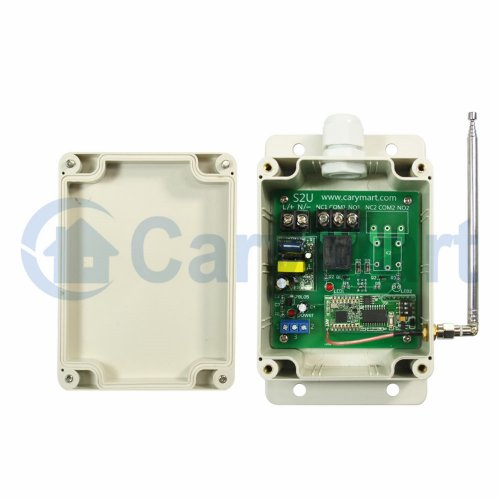 5000m Long Distance AC Power Wireless NO NC Relay Receiver