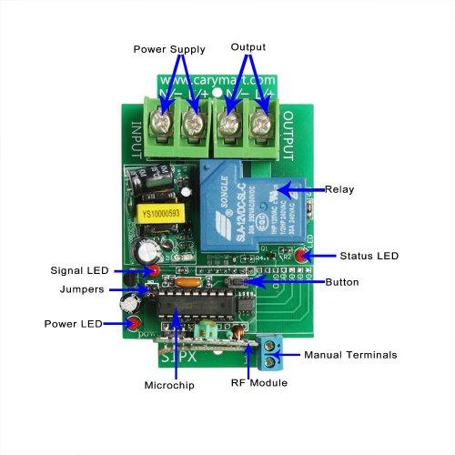 Wireless Power Outlet AC 220V 240V 15A European Standards