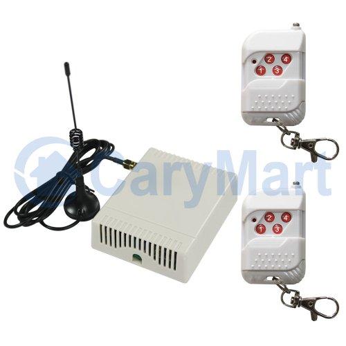 DC 6V 9V 12V 24V 4 Relay Output NO NC Receiver And Wireless