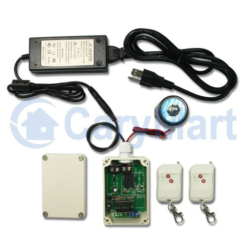 12V 24V DC Electric Solenoid Valve Wireless Remote Control Set