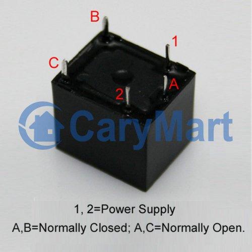 5A 5V/ 9V/12V/24V Relay- Normally Open / Normally Closed