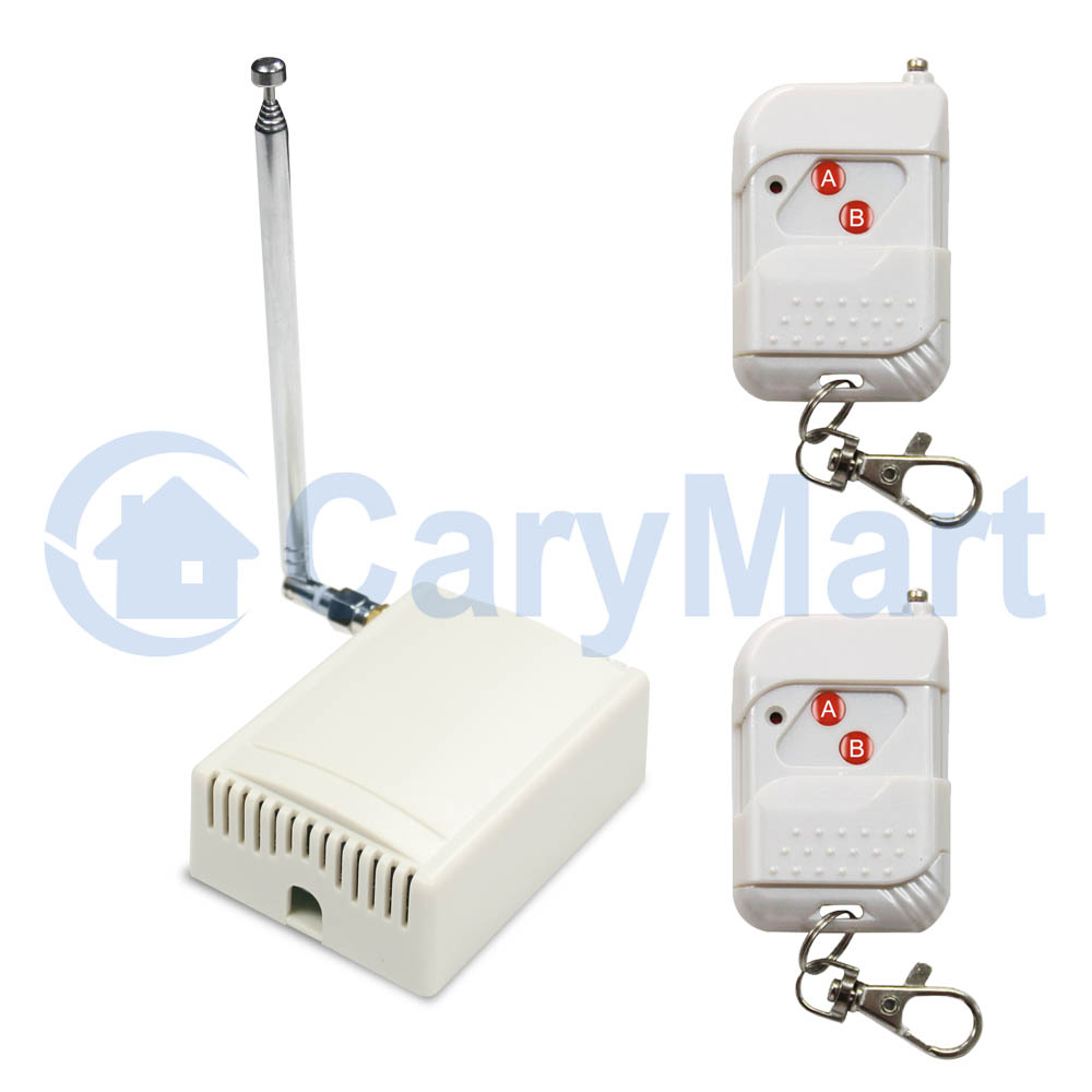 100m 4 Channel 30a High Power Relay Output Ac 220v Wireless Remote Rf Switch Control Kit