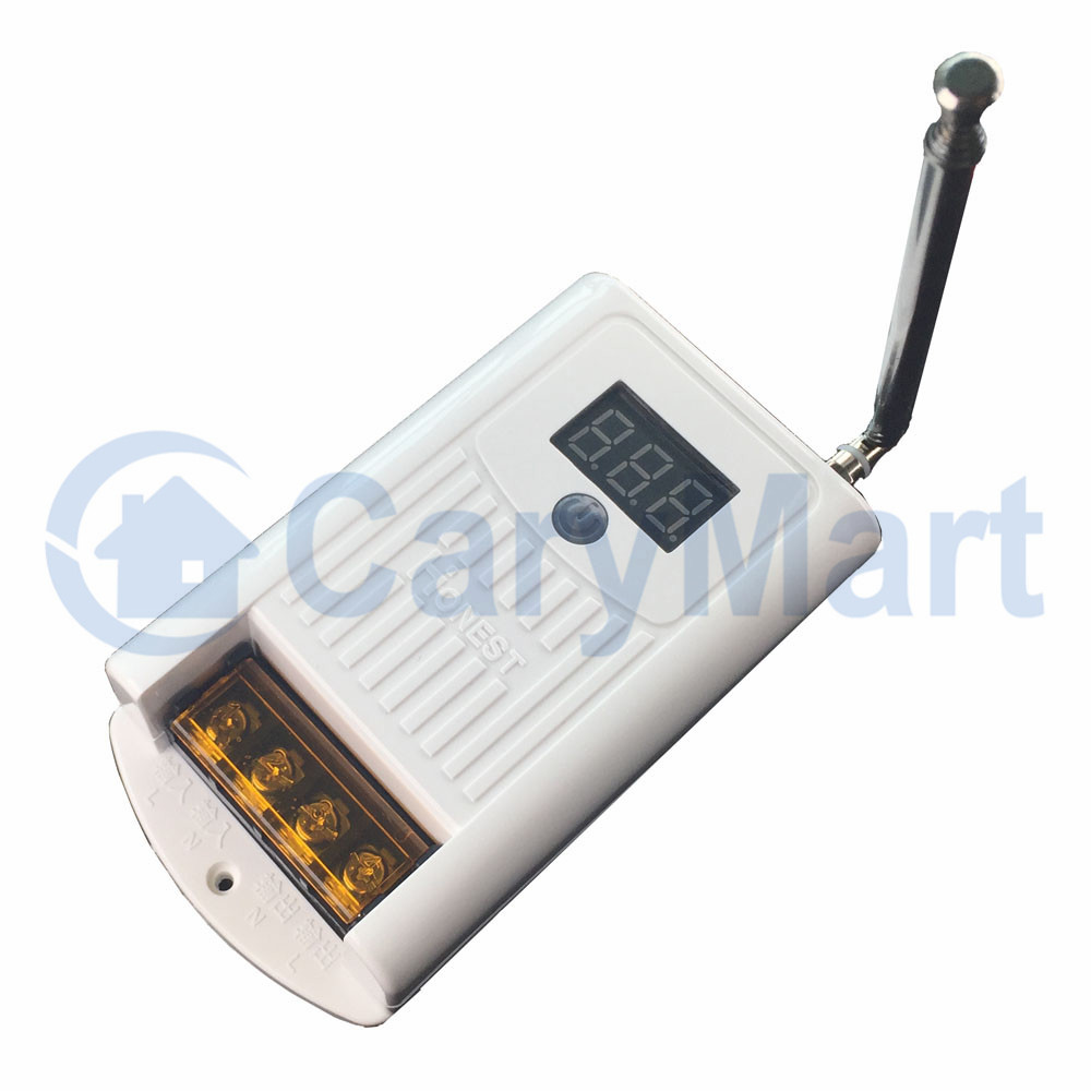 AC 380V Wireless Receiver With Power Output, Connect Contactor Can ...