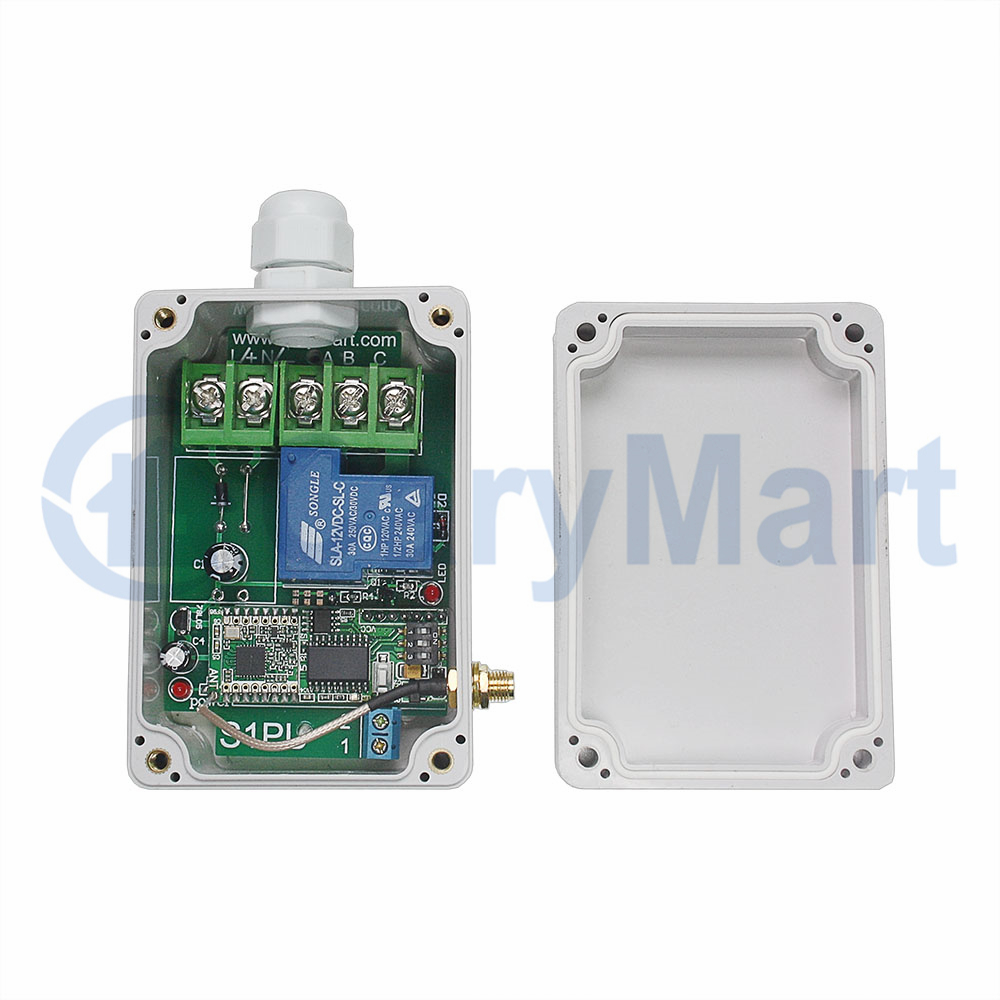 5000M Long Range 30A Relay Output High Power Remote Control Kit