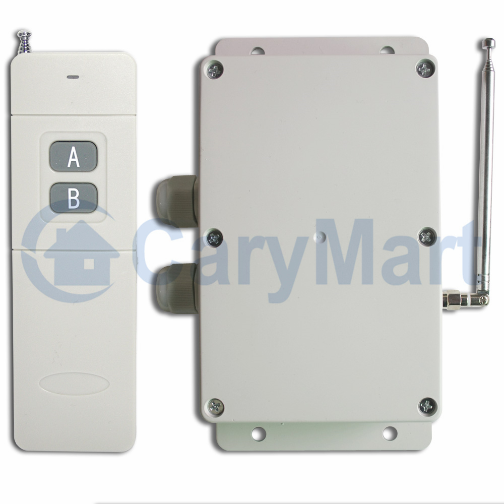 5000m Wireless Remote Control Switch Waterproof Two Relay Output 2 Way Using High Power Feedback Function