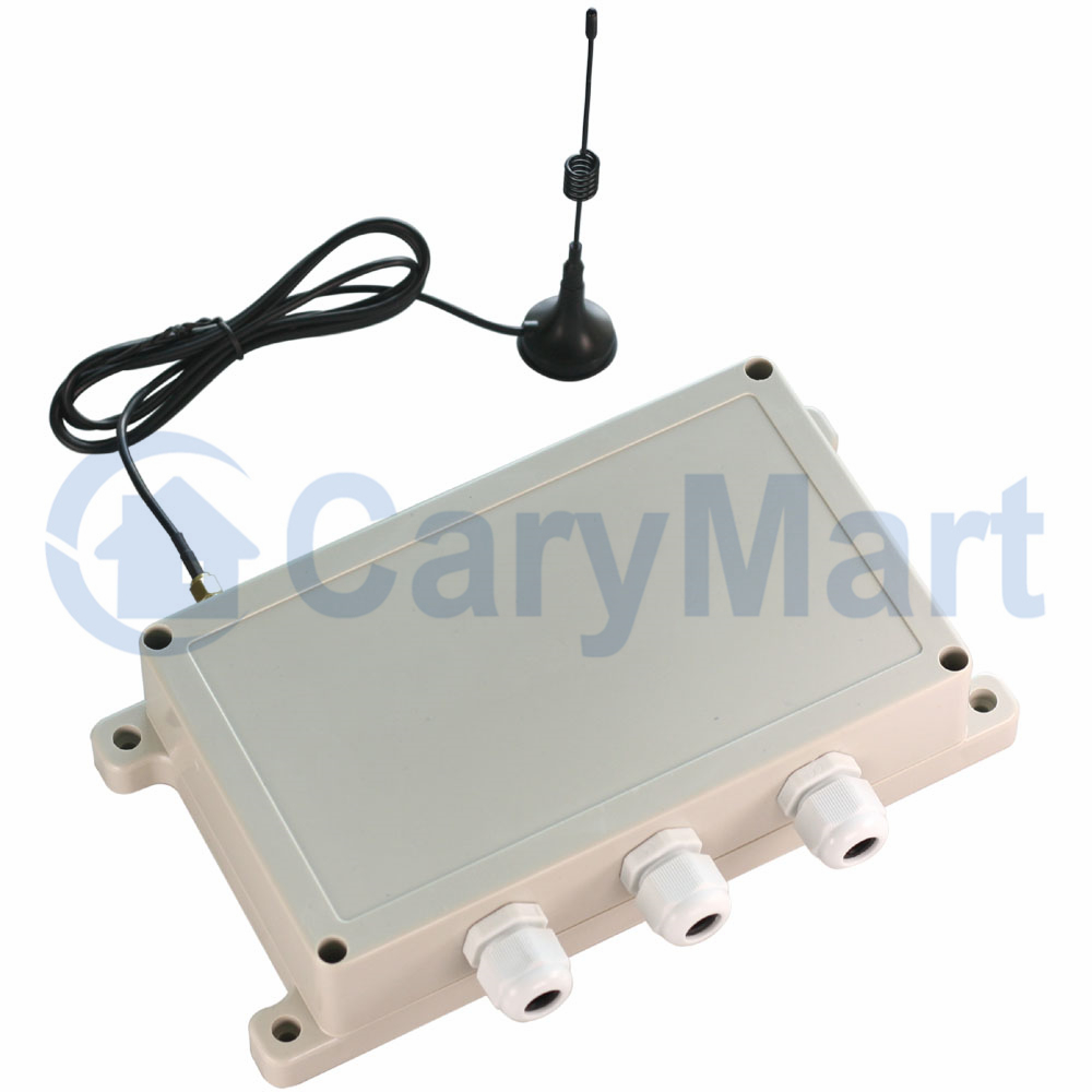 4 Ch 15000ft Long Range Waterproof Remote Control Kit 30a Relay Lamp Carymart Output Feedback Function