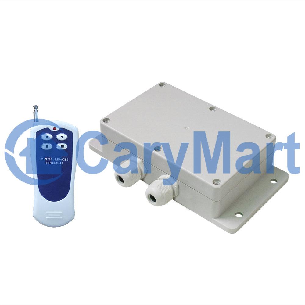 1 Channel Ac120v 220v High Power Waterproof Rf Wireless Remote Control Motor Kit Ebay