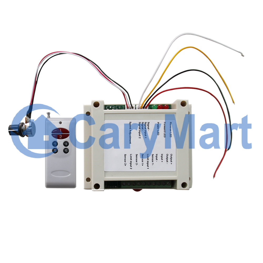 Dc12 24v Motor Controller Remote Control Dc Rotation With Machine Wiring Speed Adjustment