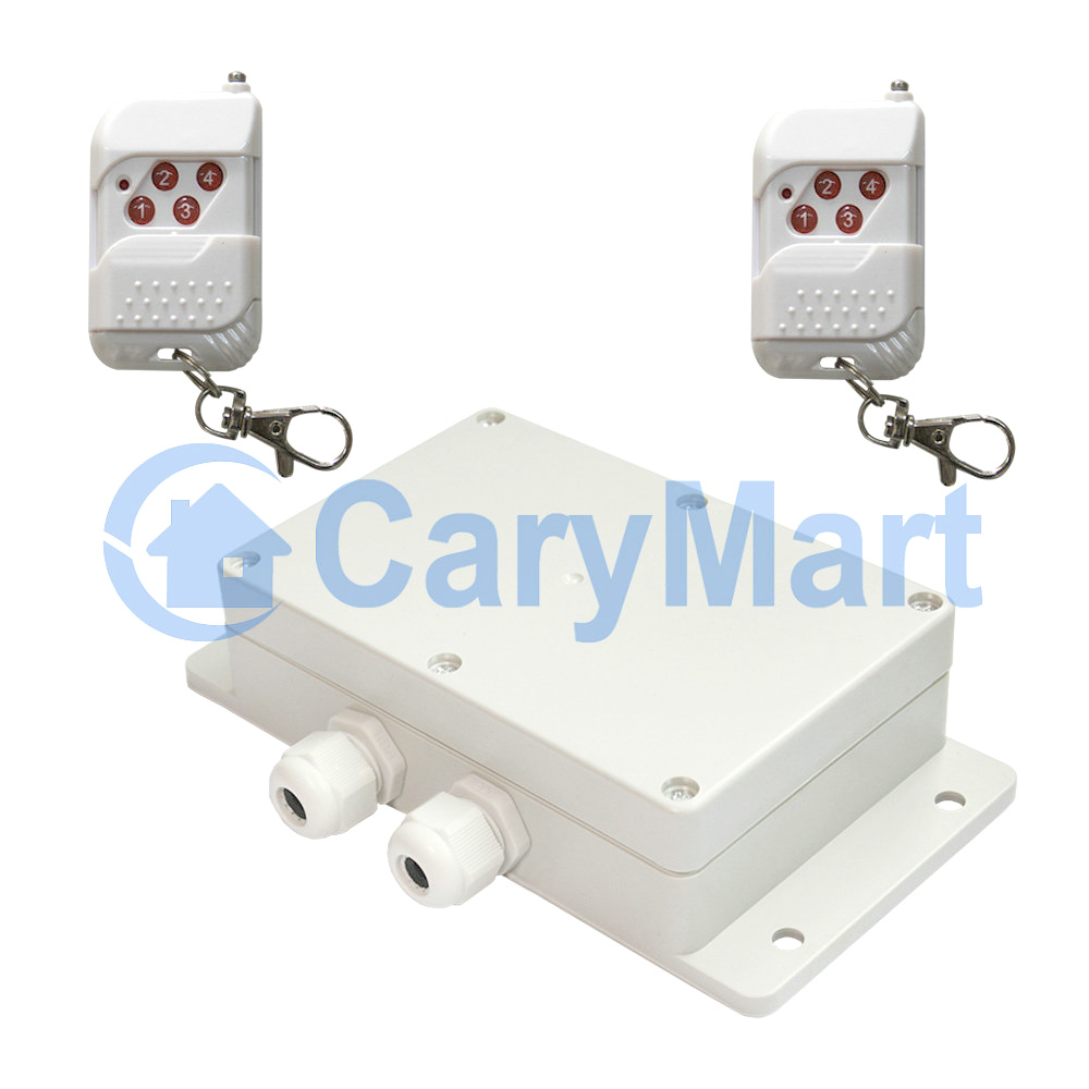 4 Ch 110v Or 220v Ac Power Output Four Lamps Remote Control Switch Lamp Carymart