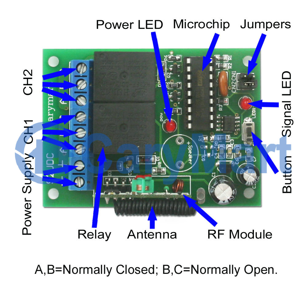Wiring Diagram For 12v Remote Switch Solutions Light Together With 12 Volt Led Wireless Electrical Work