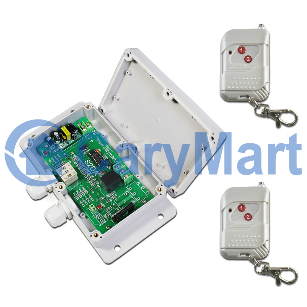 1ch Ac100240v Rf Remote Control Switch Adjustable Time Delay 0 99 Hours Relay Off