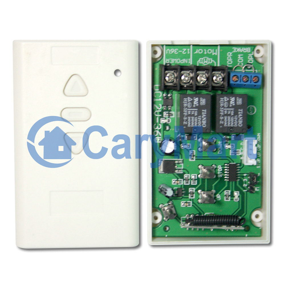 12v 24v Dc Motor Momentary Remote Controller Forward Reverse And Circuit