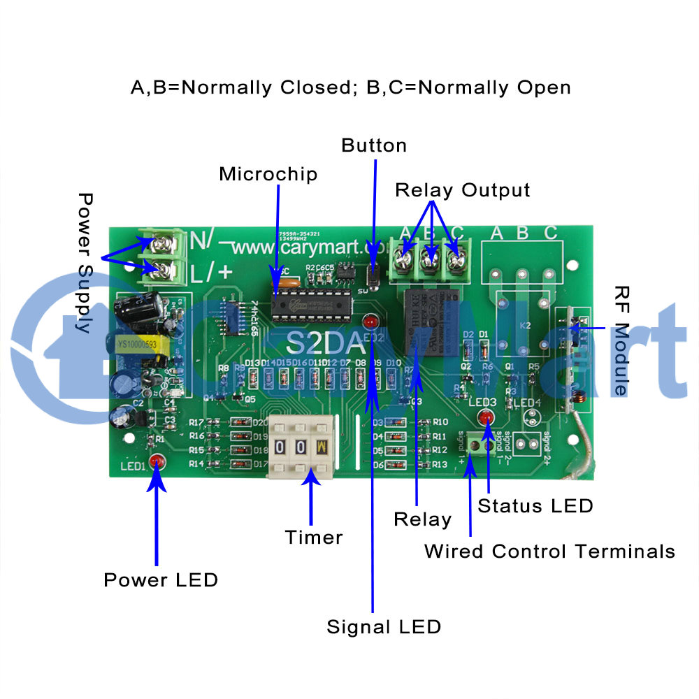 1 Mile 2000m Single Way Long Range Time Delay No Nc Remote Control R13 135 Switch Wiring Diagram Price Us 8500