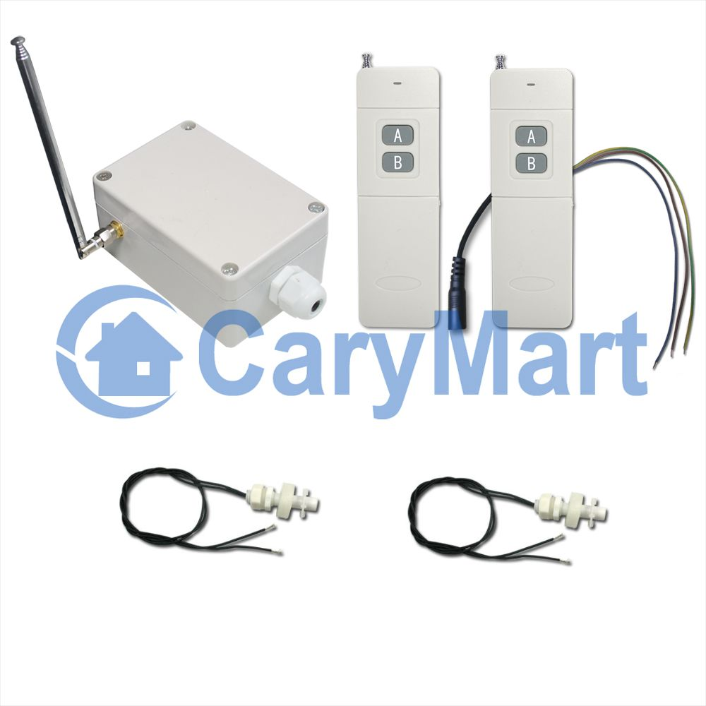 Water Pump Motor Automatic Control System With Level Sensor Two Way Switch For