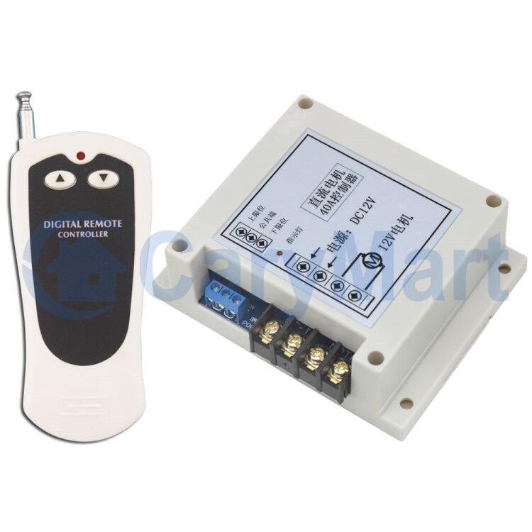 Heavy Duty 30a Dc 6v9v12v 24v Motor Remote Controller Kit