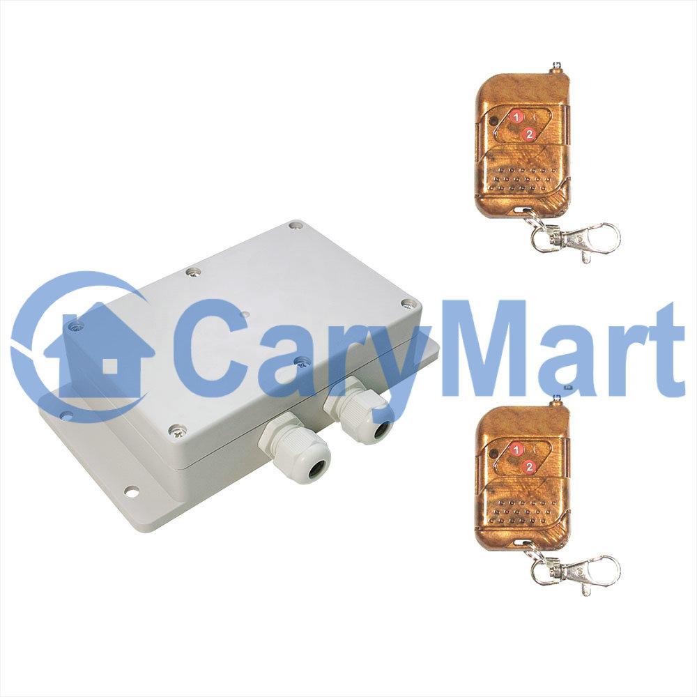 2 Way Remote Switch Kedsumr Wireless 1 On Off Digital Control 110v For 2way Ac 240v Output 30a Heavy Duty Rf