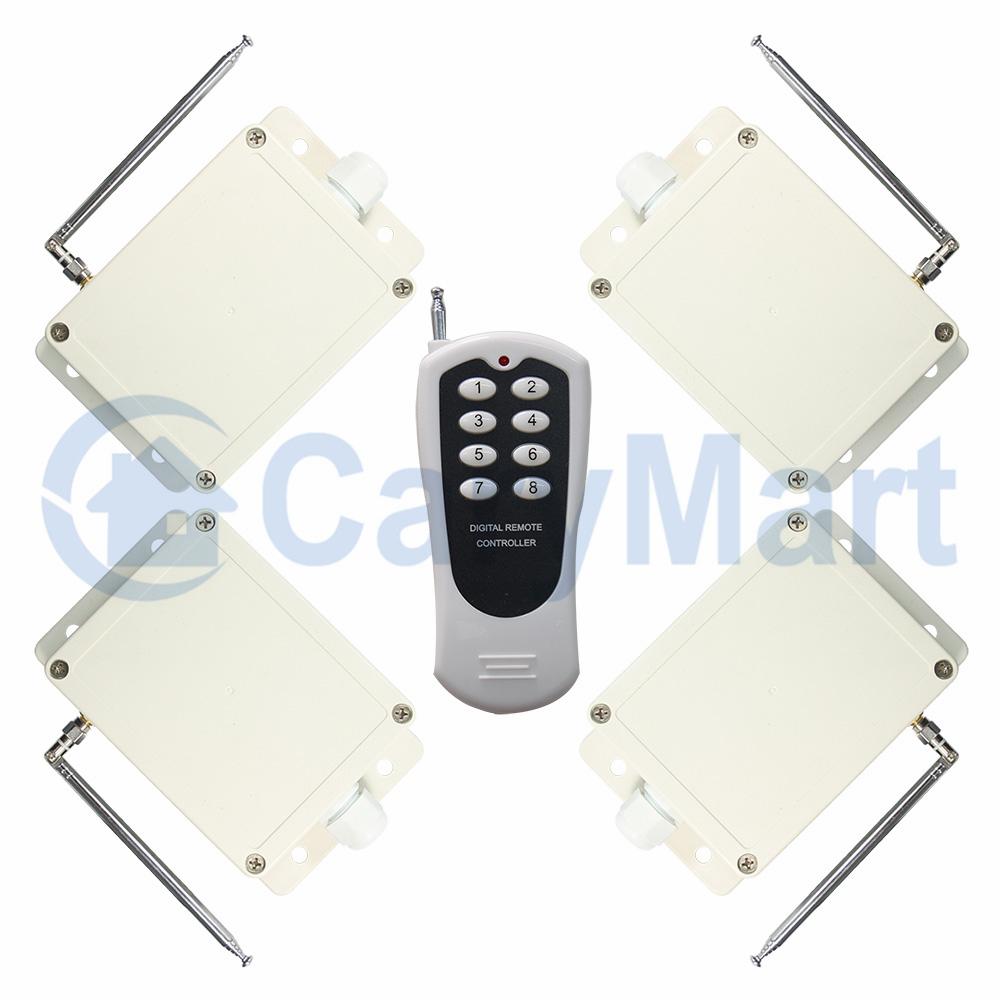 M  CH AC Relay Output NONC OnetoMany Remote Control System - Relay com no nc