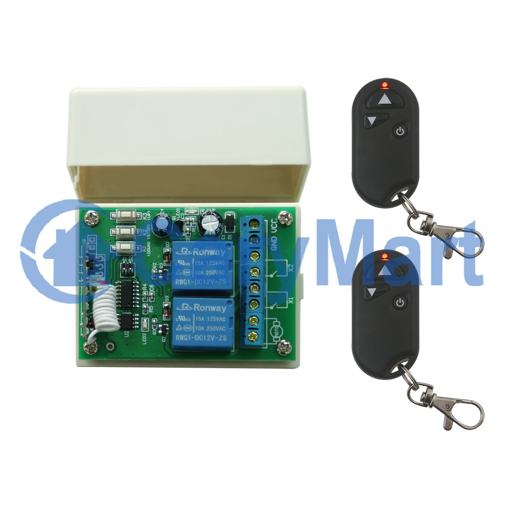 Wireless Dc 9 12 24v Motor Controller Remote Control One