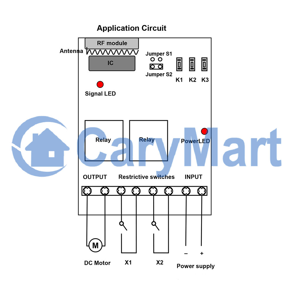 Wireless Dc 9 12 24v Motor Controller Remote Control Rotation Speed Wiring Diagram