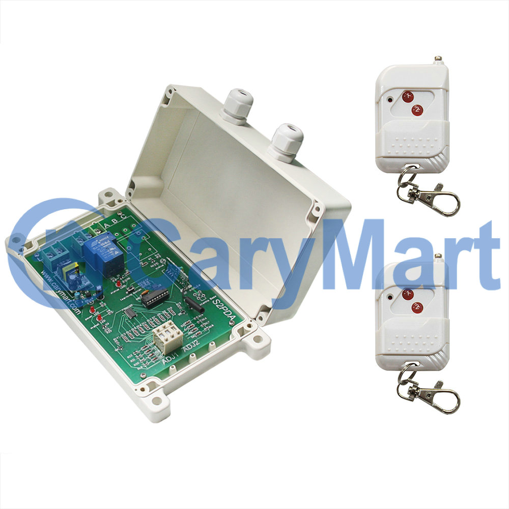 Ac100 240v Remote Control Switch Delay Time Adjustable High Power 30a 12vdc Output Lights On And Off Carymart