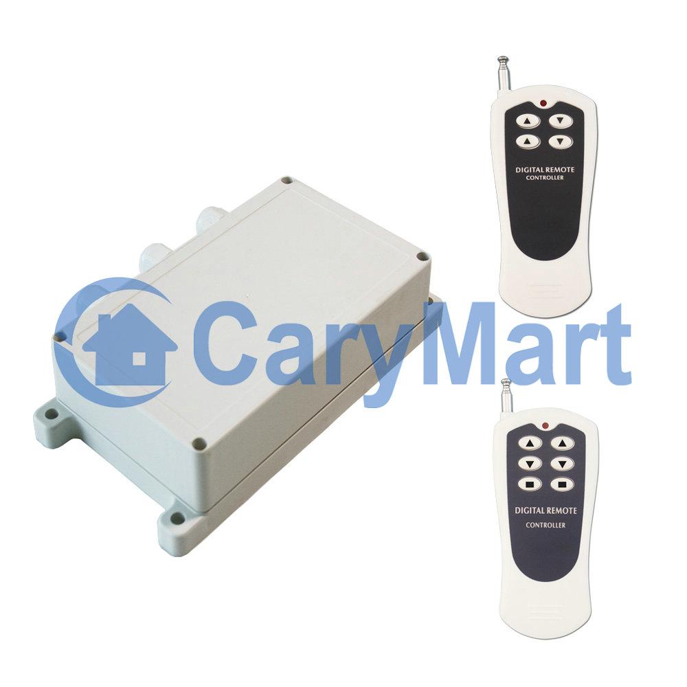 2ch Ac 120v 220v Positive Reverse Rotation Motor Control Switch Alarm Remot