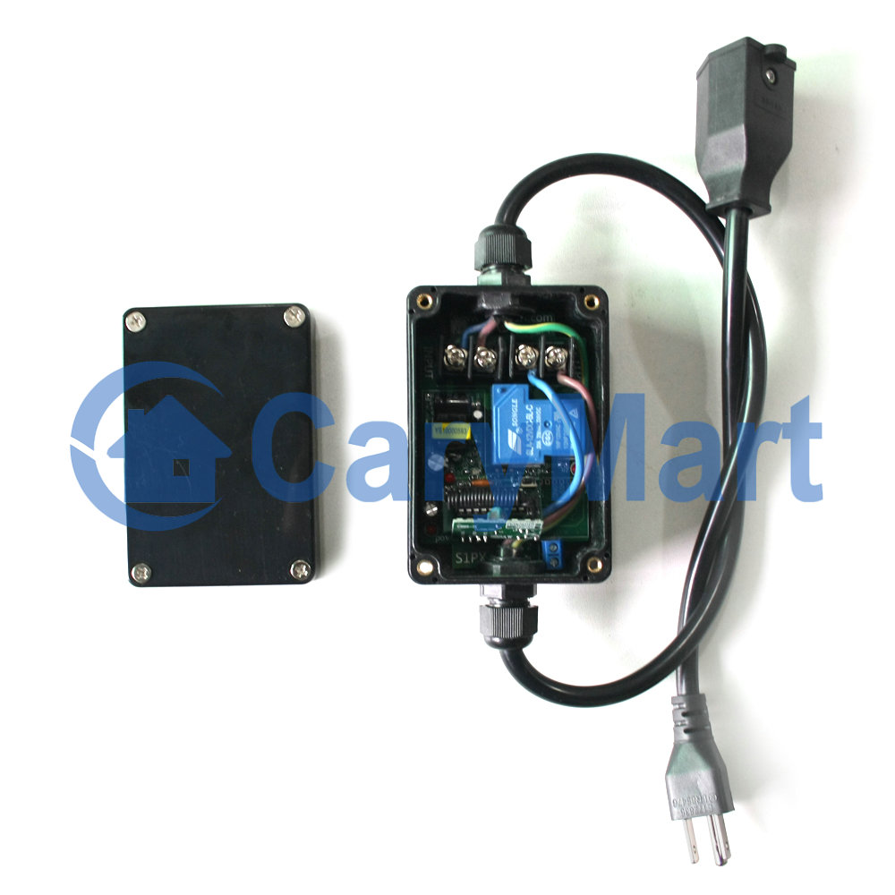 Wireless Remote Control 15a 120vac Power Outlet American Standards 110v Plug Wiring Socket