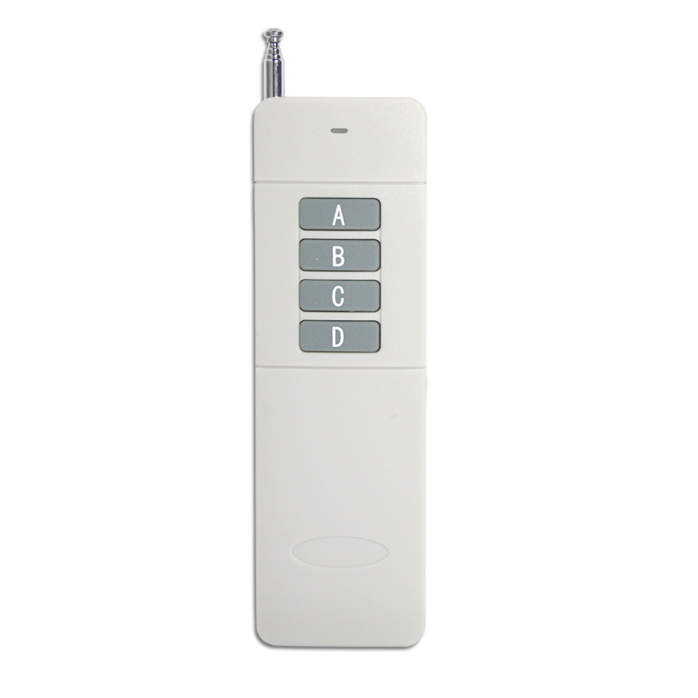 4 Button 5000M Longest Distance Two-way RF Remote Control / Transmitter
