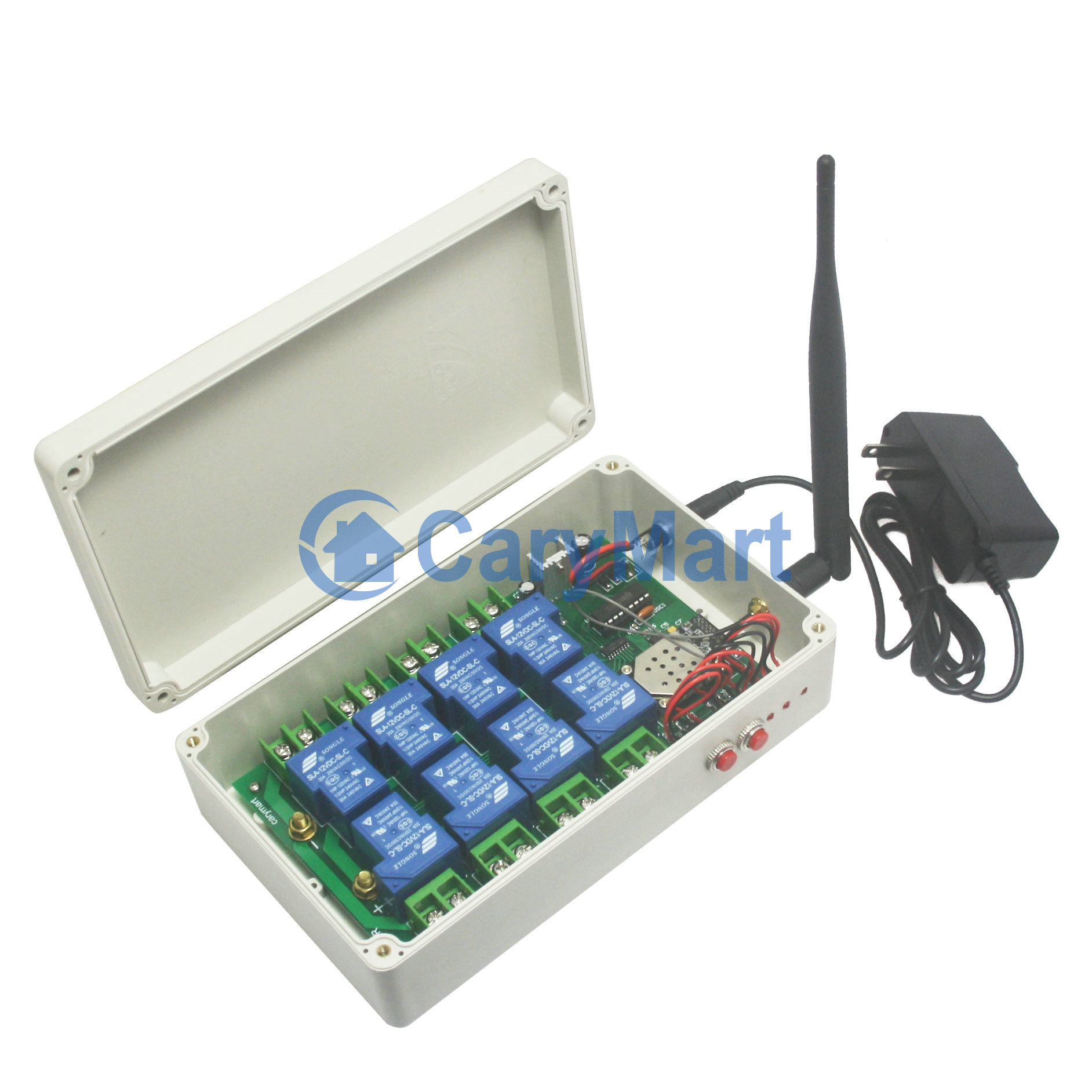 Controller for Android or iOS - 8 Channels AC DC 30A High Power Output