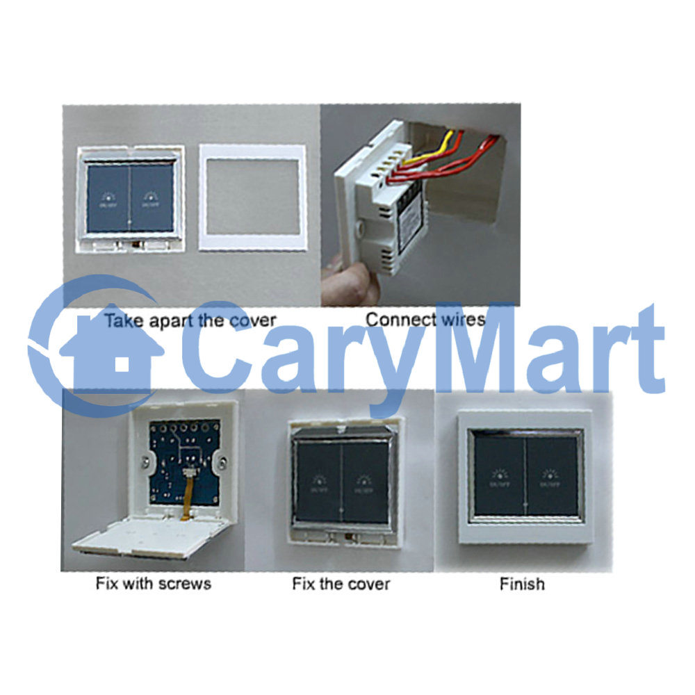 Lcd Touch Sensitive Wall Switch Motor Controller For Electric Skylight Blinds 0030306 Hcs