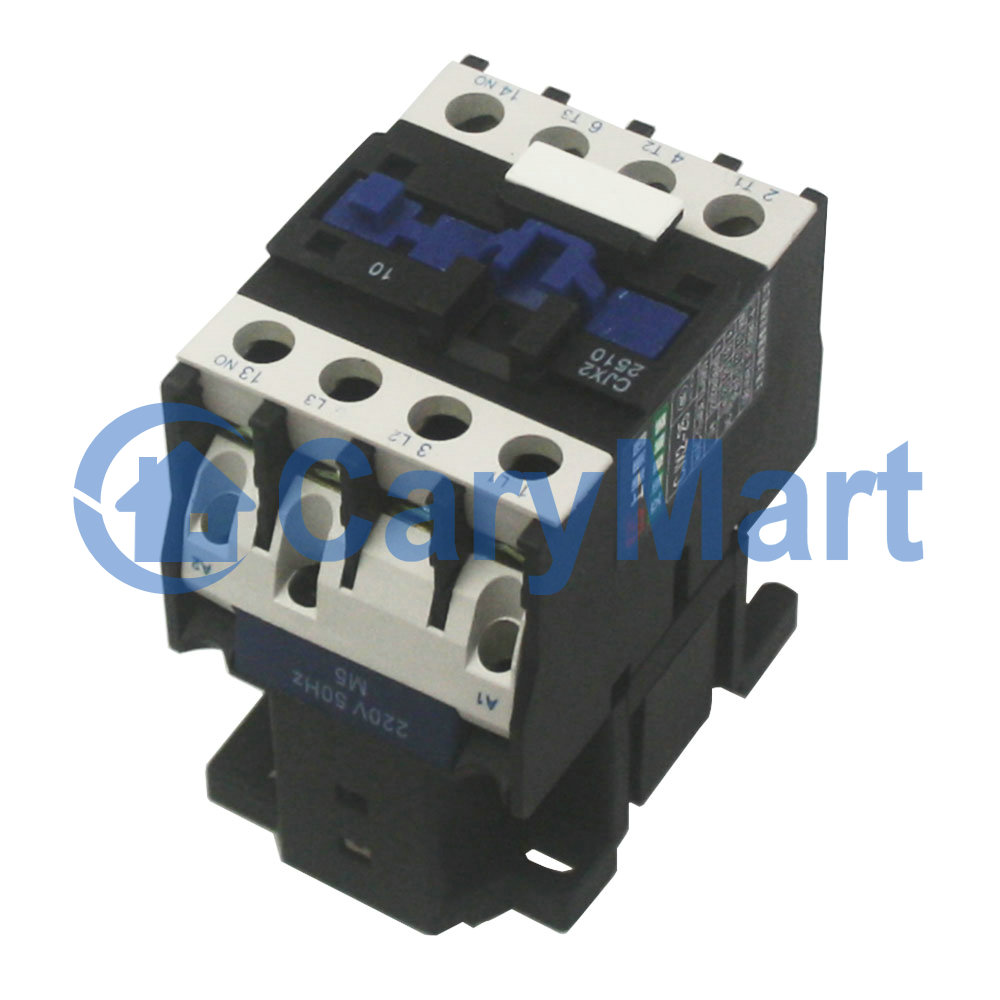 Ac 110v Or 220v 380v Contactor Motor Starter Relay 3 Phase Pole 25a Wiring