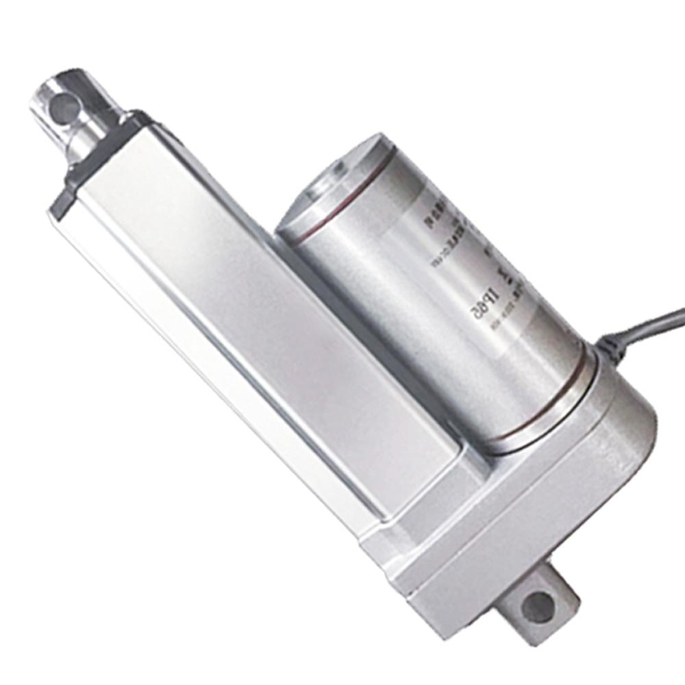 2 50mm Electric Cylinder Max Lift 500n 100 Pound 50kg Linear Actuator 12v 24v Dc